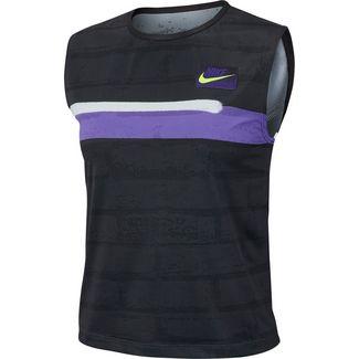 Nike W NKCT SLAM NY NT Funktionstank Damen off noir-court purple-white-volt