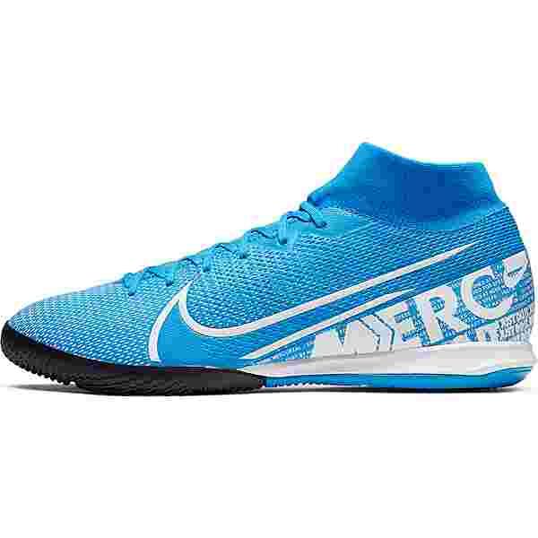 Nike MERCURIAL SUPERFLY 7 ACADEMY IC Fußballschuhe blue hero-white-obsidian