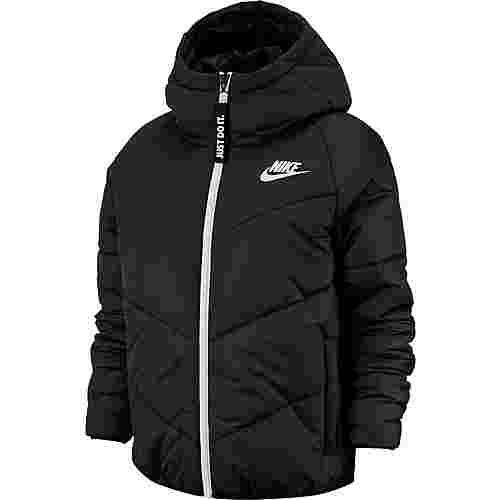 Nike NSW Steppjacke Damen black-black-white