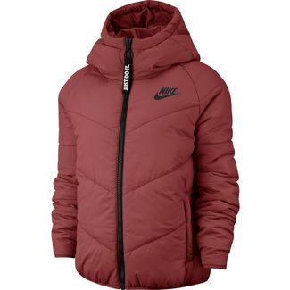 Nike NSW Steppjacke Damen cedar-cedar-black