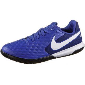 Nike JR TIEMPO LEGEND 8 ACADEMY IC Fußballschuhe Kinder hyper royal-white-deep royal blue-hyper royal