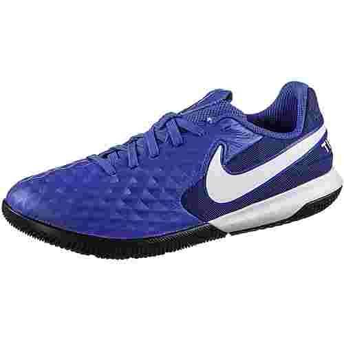 Nike JR TIEMPO LEGEND 8 ACADEMY IC Fußballschuhe Kinder hyper royal-white-deep royal blue-hyper royal