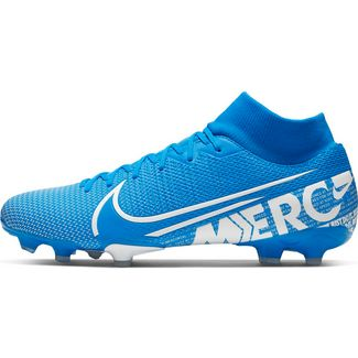 Nike MERCURIAL SUPERFLY 7 ACADEMY FG/MG Fußballschuhe blue hero-white-obsidian