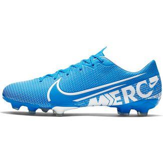 Nike MERCURIAL VAPOR 13 ACADEMY FG/MG Fußballschuhe blue hero-white-obsidian