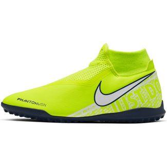 Nike PHANTOM VSN ACADEMY DF TF Fußballschuhe volt-white-volt-obsidian