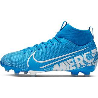 Nike JR MERCURIAL SUPERFLY 7 ACADEMY FG/MG Fußballschuhe Kinder blue hero-white-obsidian