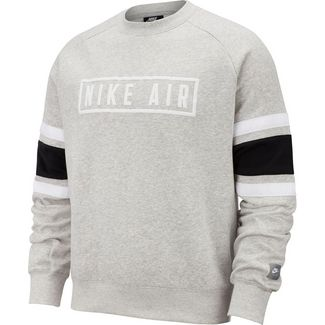 Nike NSW Air Sweatshirt Herren grey heather-white-black