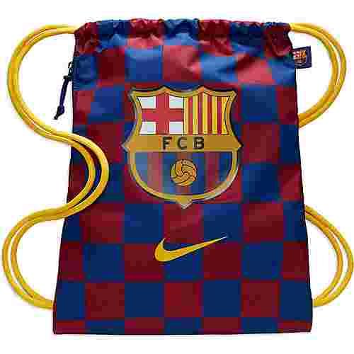 Nike FC Barcelona Turnbeutel deep royal blue-noble red-varsity maize