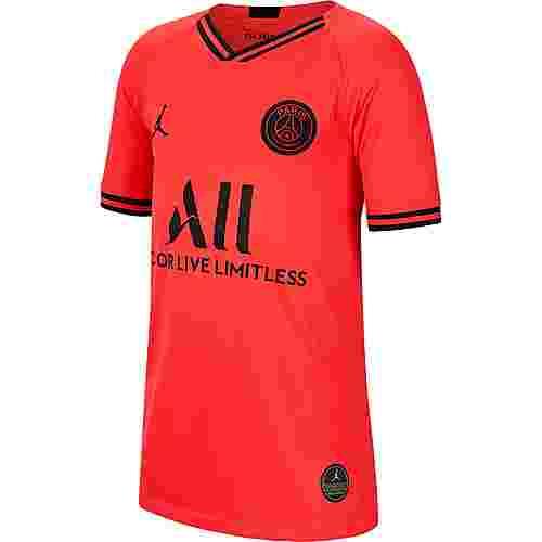 Nike Paris SaintGermain-Jordan 19/20 Auswärts Fußballtrikot Kinder infrared 23-black