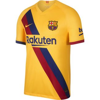 Nike FC Barcelona 19/20 Auswärts Fußballtrikot Herren varsity maize-varsity maize