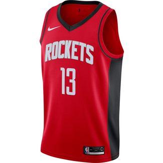 Nike Harden James Houston Rockets Basketballtrikot Herren university red