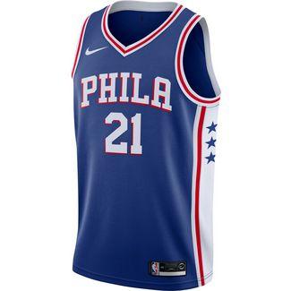Nike LeBron James LA Lakers Basketball Shirt Herren weiß lila im Online Shop von SportScheck kaufen
