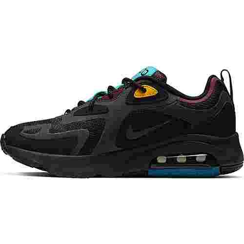 Nike Air Max 200 Sneaker Damen black-anthracite-bordeaux