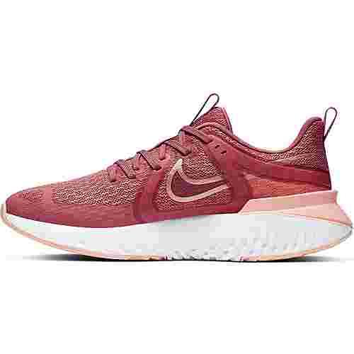 Nike Legend React 2 Laufschuhe Damen light redwood-metallic-red bronze