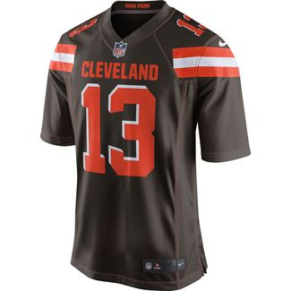 Nike Odell Beckham Jr. Cleveland Browns American Football Trikot Herren seal brown-team orange