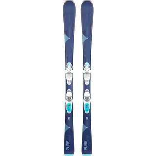 HEAD pure Joy SLR + JOY 9 GW All-Mountain Ski Damen blau-weiß