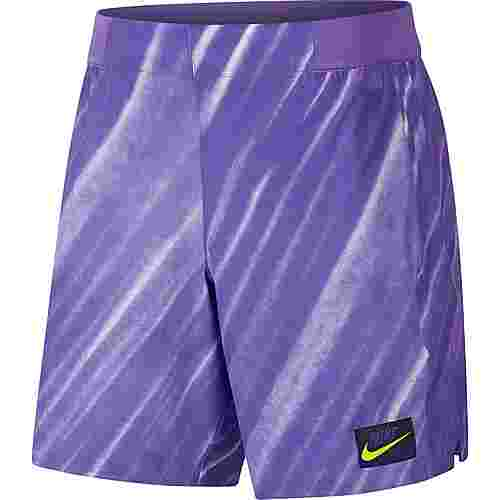 Nike M NKCT FLX ACE NY NT AOP Funktionsshorts Herren psychic purple-volt