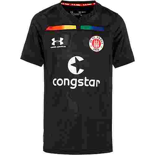 Under Armour FC St. Pauli 19/20 3rd Trikot Kinder black-white