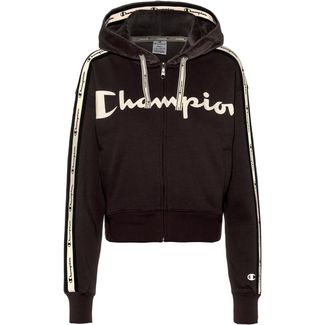 CHAMPION Sweatjacke Damen black beauty