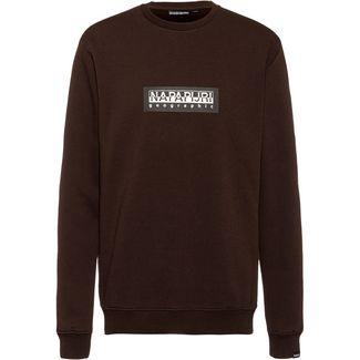 Napapijri Box C Sweatshirt Herren choco brown