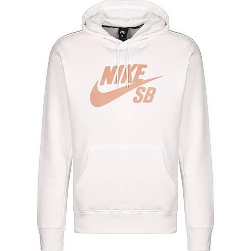 best website be48b 2db22 Nike Icon Essential Kapuzenpullover Herren weiß / rosé gold im Online Shop  von SportScheck kaufen