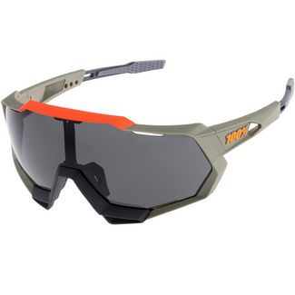 ride100percent 100% Speedtrap Smoke Lense Sportbrille soft tact quicksand
