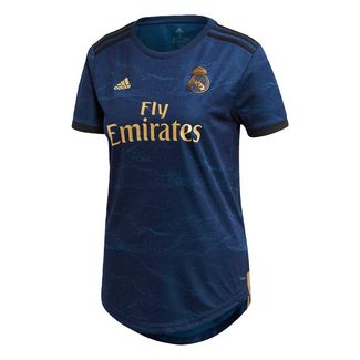 adidas Real Madrid Auswärtstrikot Funktionsshirt Damen Night Indigo