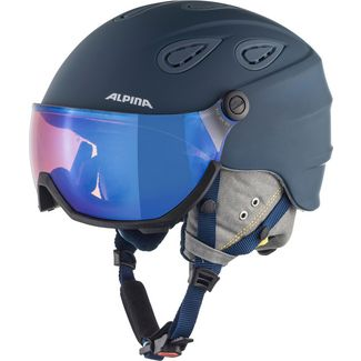 ALPINA GRAP VISOR 2.0 HM Skihelm ink-grey matt