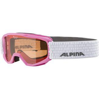 ALPINA Piney Skibrille Kinder rose-white