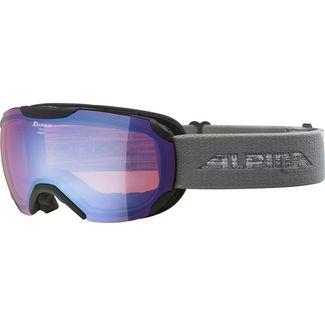 ALPINA PHEOS S HM Skibrille black-grey