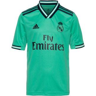 adidas Real Madrid 19/20 3rd Fußballtrikot Kinder hi-res green