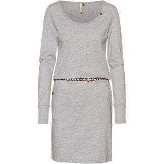 Ragwear Montana Organic Jerseykleid Damen light grey