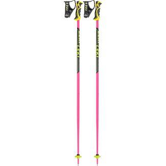 LEKI Worldcup SL TBS Alpinskistock pink-schwarz-weiß