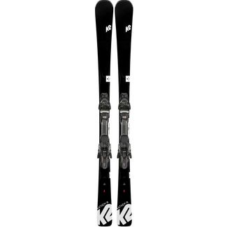 K2 Anthem 76 All-Mountain Ski Damen schwarz-anthrazit