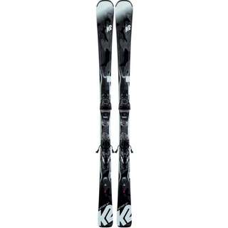 K2 Anthem 74 All-Mountain Ski Damen schwarz-seefoam