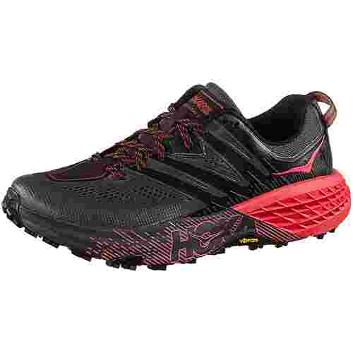 Hoka One One Speedgoat 3 W Trailrunning Schuhe Damen dark shadow-poppy red