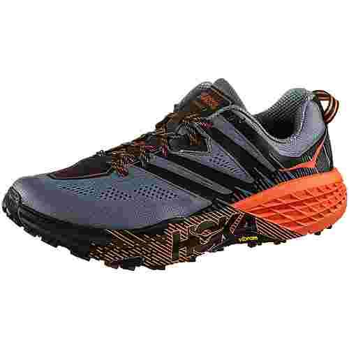 Hoka One One Speedgoat 3 Trailrunning Schuhe Herren stormy weather-tangerine tango