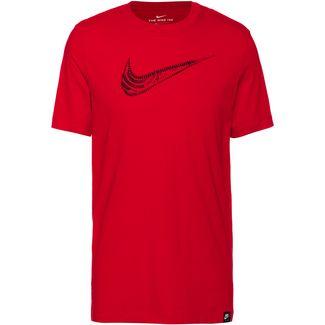 Nike NSW Air Force 1 T-Shirt Herren university red-black