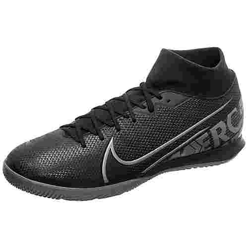 Nike Mercurial SuperflyX VII Academy Fußballschuhe Herren schwarz / grau