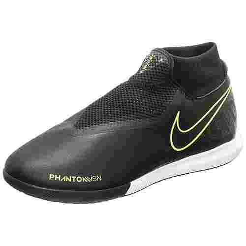 Nike Phantom Vision Academy DF Fußballschuhe Herren schwarz / neongelb