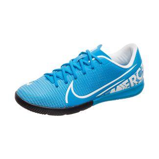 Nike Mercurial Vapor XIII Academy Fußballschuhe Kinder blau / weiß