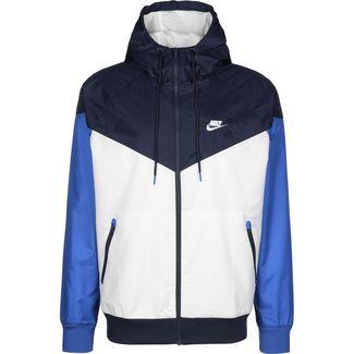 Nike Windrunner Outdoorjacke Herren weiß / dunkelblau