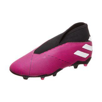 adidas Nemeziz 19.3 LL Fußballschuhe Kinder pink / schwarz