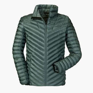 Schöffel Thermo Jacket Val d Isere3 Daunenjacke Herren 9570 grau