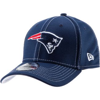 New Era 39Thirty New England Patriots Cap oceanside blue