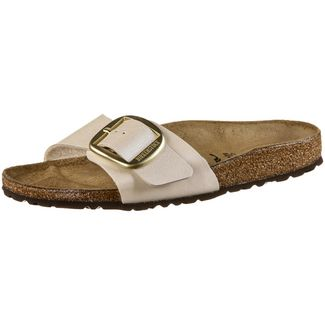 Birkenstock Madrid Big Buckle Sandalen Damen graceful pearl white