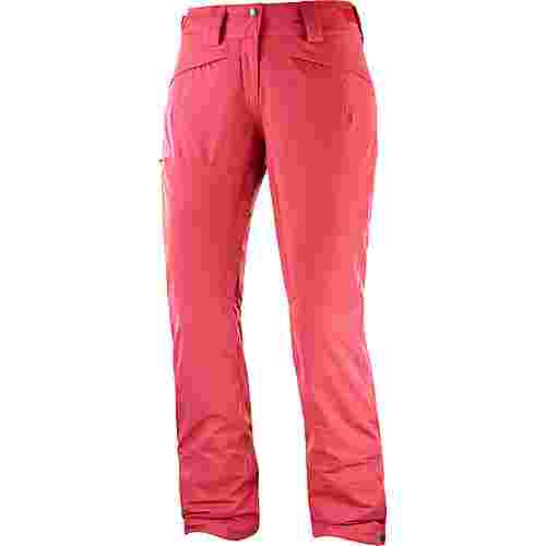 Salomon Qst Snow Skihose Damen garnet rose