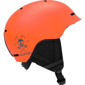 Salomon Grom Skihelm Kinder flame