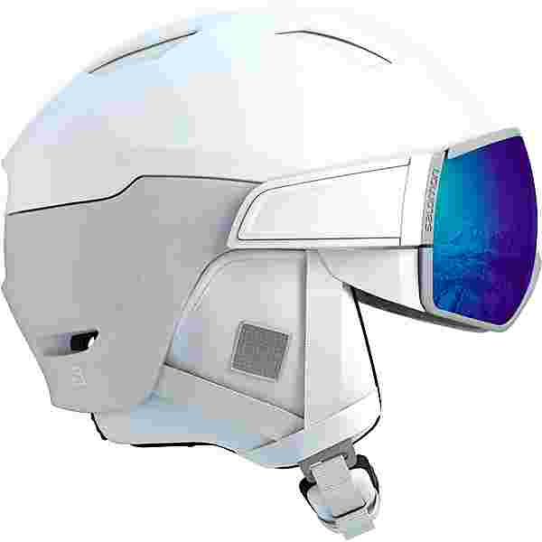 Salomon Mirage Photo CD Skihelm white-aw red