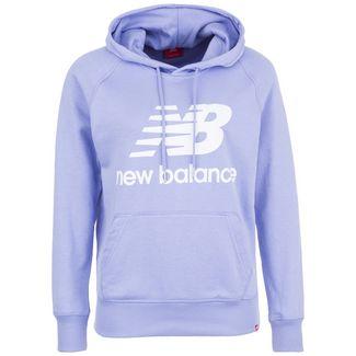 NEW BALANCE Essentials Hoodie Damen flieder
